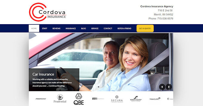 New Cordova Website